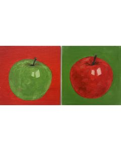 Two Apples (set of two)