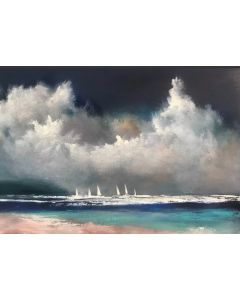 White Sails Painted Sky