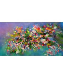 """""""Spring Blooming"""" Extra Large Painting"""
