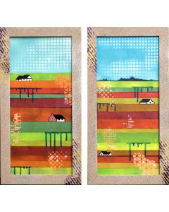 Spring Holland - two small panels