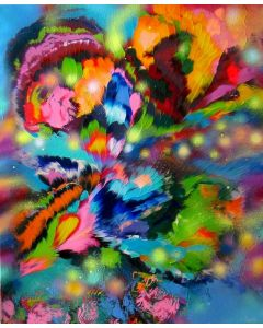 """""""Emotions of Flowers"""" Large Painting"""