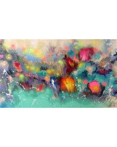"""""""Floral Musical Accompaniment""""  Large Painting"""
