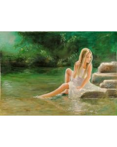 Girl on the river