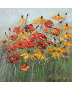 Poppies and gilding