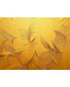 Fly free No. 4 - golden and black abstract