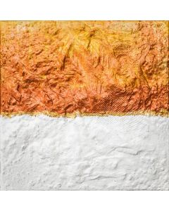 Deep Russet and White