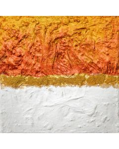 Deep Russet and White #2