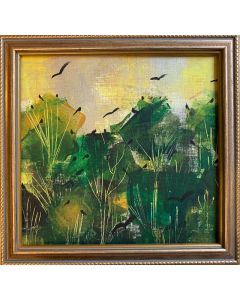 A moment in Spring - framed original painting
