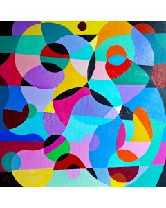COMPOSITION: DANCE OF SHAPES II