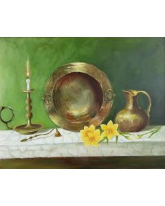 Still life with narcissus