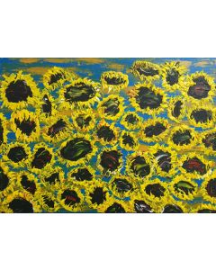 BLOOMING SUNFLOWERS 7