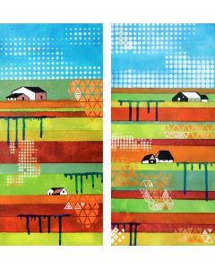 Spring Holland 2 - two small panels