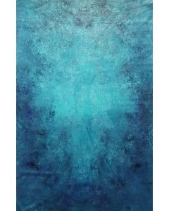 The Heart of the Ocean - XL blue abstract painting