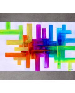 Large Contemporary Painting, Modern Art and Wall Decor on Canvas, office and home painting