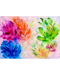 Abstract Art, Floral Painting, Original painting