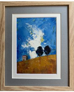 Tuscan Summer - The glory of it all - original framed oil painting