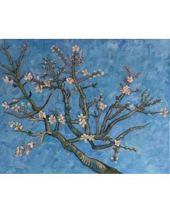 Almond Blossoms after Van Gogh