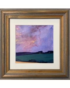 And the world stood still - original framed oil painting