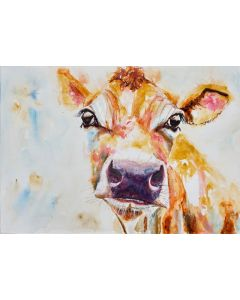 Contemplating Cow