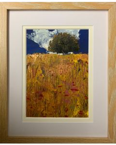 The Ancient Oak tree - framed original oil painting