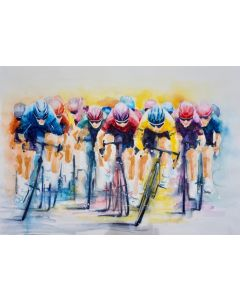 Cycle Race 'Yellow Jersey' LARGE