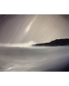 Winter Waves- Acrylic On Stretched Canvas