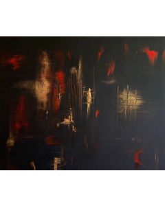 The Secret Passage- Acrylic On Stretched Canvas