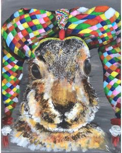 Hare - Jeremy the court jester hare