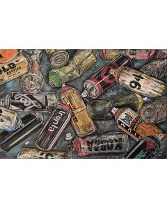Empty Cans - Original Painting