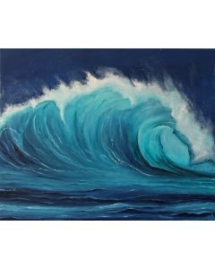 Realistic wave, 100x80