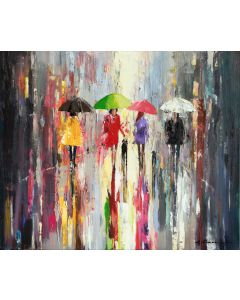 'Summer In The City Rain'
