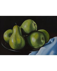 A Plate of Pears