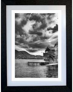 DUKE of PORTLAND BOATHOUSE  - B&W - ULLSWATER - Lake District - Limited Edition of 10 - FREE WORLDWIDE SHIPPING