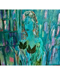 'Queen of the Night' an original ,signed painting