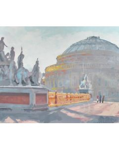 Albert Hall London Painting