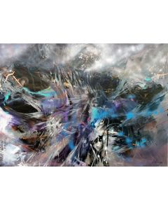 Gigantic Huge XXL Painting Childhood Dreams Desire To Fly By O KLOSKA