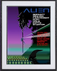 ALIEN: large limited edition print