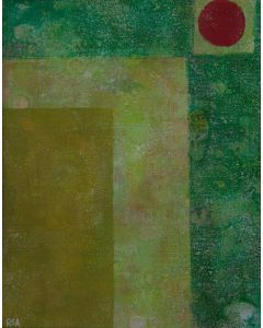 In Floral Green - Abstract