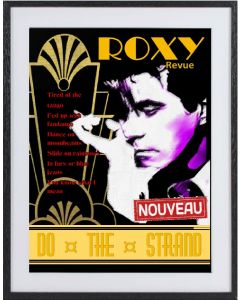 Roxy Music:  large framed limited edition print