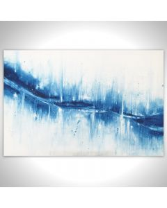Azure Blue Abstract