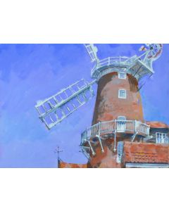 Cley Windmill Painting