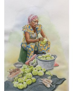THE CABBAGE SELLER