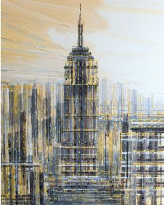 New York - The Empire State Building In Neutral Colours