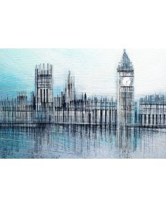London - The Houses Of Parliament In Morning Light
