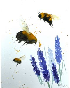 Bumble Bees & Lavender