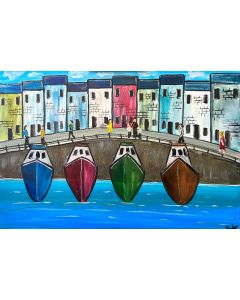 Boats In A Row 2