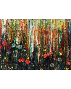 Burnished Mist and Wild Beauty- Large Painting