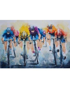 Cycling 'Hitting the Line'