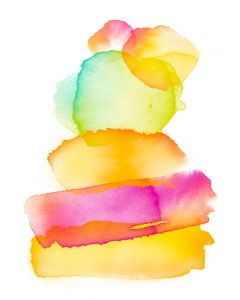 DIGITAL WATERCOLOUR -LET THE SUNSHINE IN