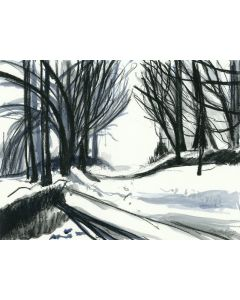 Winter Trail. Cotswolds, Gloucestershire
